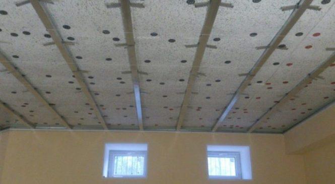 Звукоизоляция под натяжной потолок своими руками