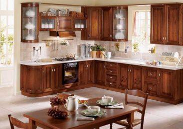 Фасады из дерева для кухни. Натуральная древесина в кухонном интерьере