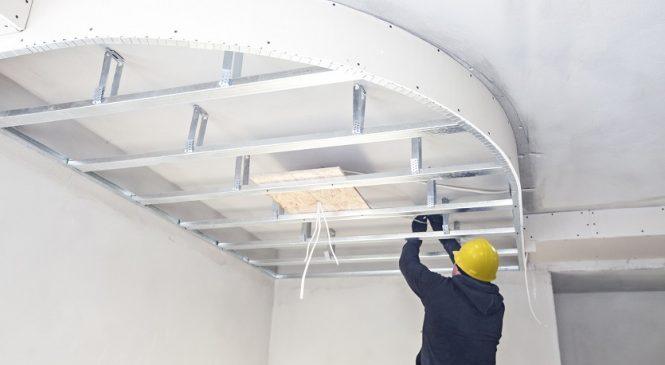 Преимущества строительства из гипсокартона