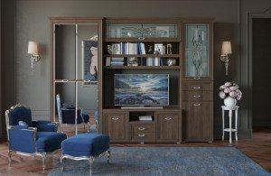 Элитная итальянская мебель в гостиную
