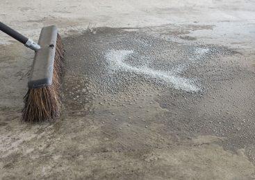 Растворитель бетона: простой способ очистки каменных инструментов